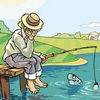 аватар грустный рыболов