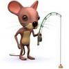 аватар мышь рыболов